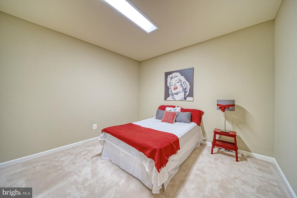 Bonus Room in Lower Level is used for guests - 1321 GATESMEADOW WAY, RESTON