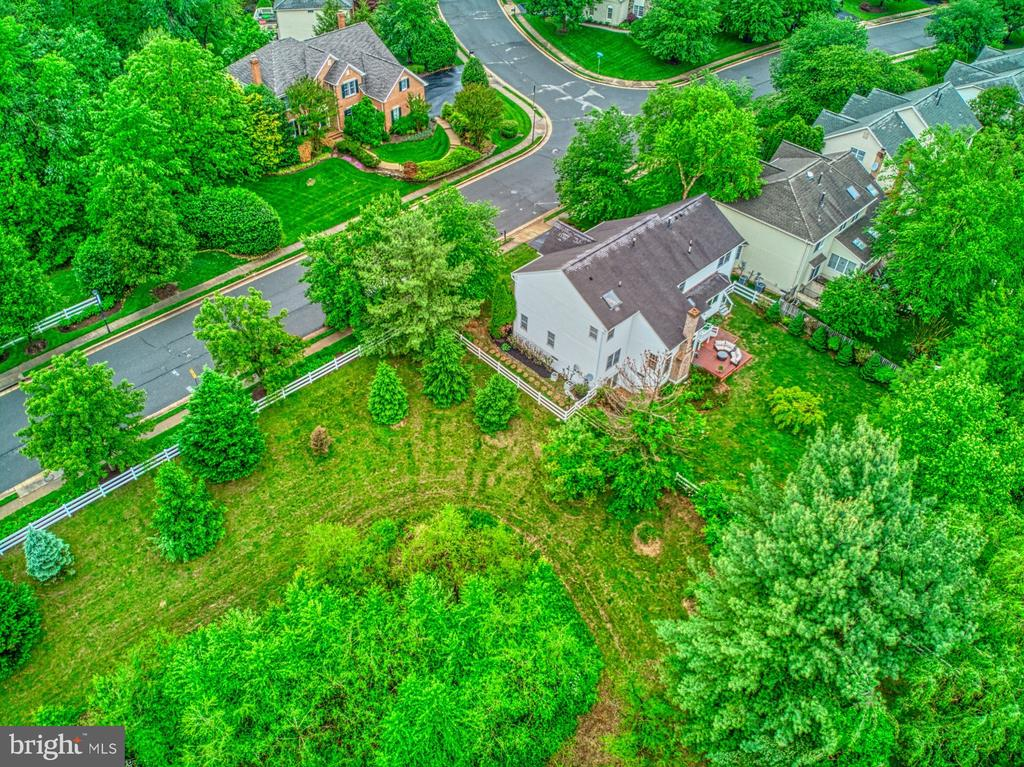 Aerial View of Street - 1321 GATESMEADOW WAY, RESTON