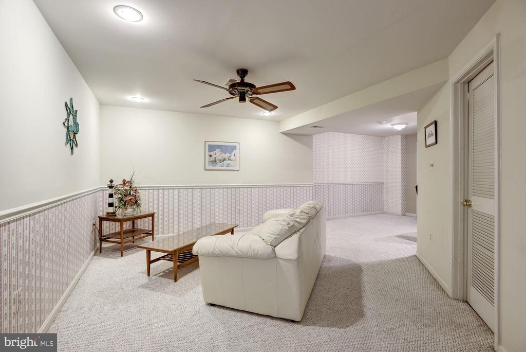 Finished Basement Seating Area - 4811 WALNEY KNOLL CT, CHANTILLY