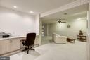 Finished Basement Office Area - 4811 WALNEY KNOLL CT, CHANTILLY