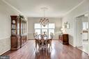 Elegant Dining Room - 4811 WALNEY KNOLL CT, CHANTILLY