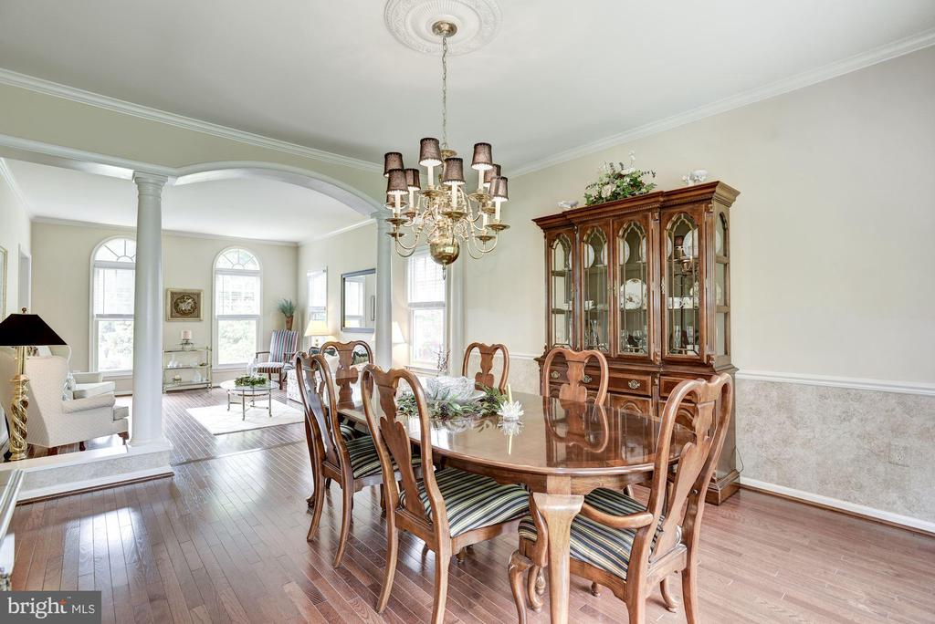 Dining Room to Living Room - 4811 WALNEY KNOLL CT, CHANTILLY