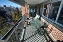 Balcony with wall of windows - 3900 NW WATSON PL NW #A-7C, WASHINGTON