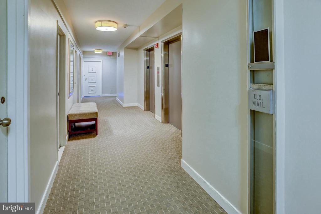Hallway leading to 7C - 3900 NW WATSON PL NW #A-7C, WASHINGTON
