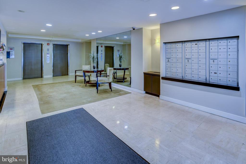 Lobby view of the mailboxes - 3900 NW WATSON PL NW #A-7C, WASHINGTON