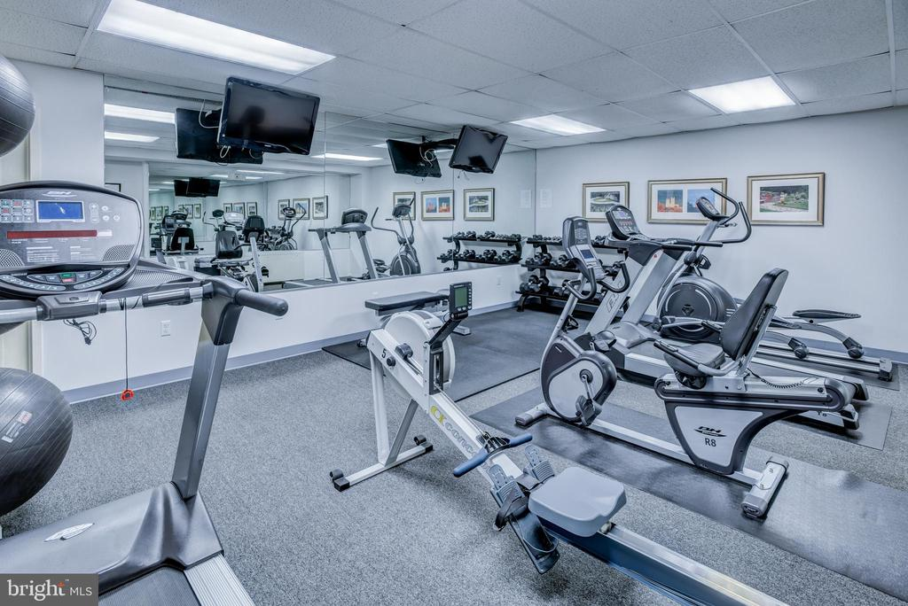 Exercise room - 3900 NW WATSON PL NW #A-7C, WASHINGTON