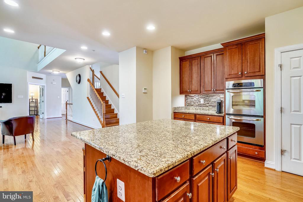 Family room opens to the kitchen - 5262 MAITLAND TER, FREDERICK