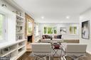 Living Room - Virtually Staged - 5125 37TH ST N, ARLINGTON