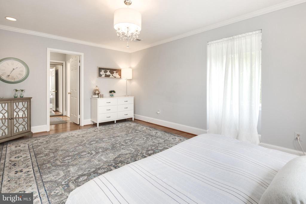Master Suite - 10106 WINDY KNOLL LN, VIENNA