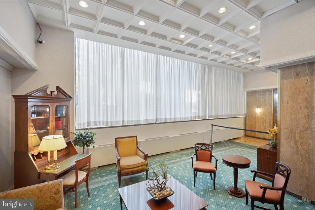 Lobby in North Tower - 5500 FRIENDSHIP BLVD #1616N, CHEVY CHASE
