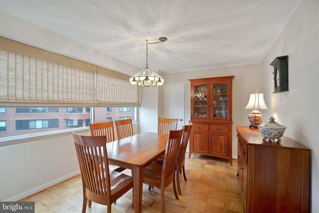 Large walk-in closet off dining room - 5500 FRIENDSHIP BLVD #1616N, CHEVY CHASE