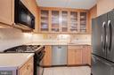 Stainless appliances and lots of storage - 5500 FRIENDSHIP BLVD #1616N, CHEVY CHASE