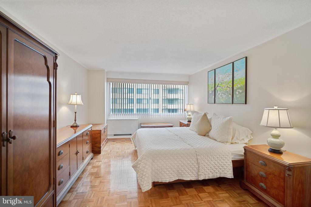 Spacious bedroom with en suite bathroom - 5500 FRIENDSHIP BLVD #1616N, CHEVY CHASE
