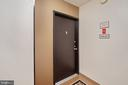 Entrance to your corner unit! - 5500 FRIENDSHIP BLVD #1616N, CHEVY CHASE