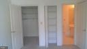 Shelved Walk in and Linen Closet in Master Bed roo - 12913 ALTON SQ #309, HERNDON