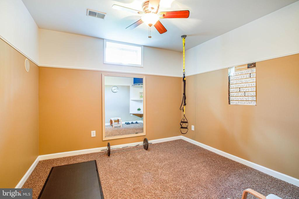 Lower level separate fitness room - 3 MOUNT ARARAT LN, STAFFORD