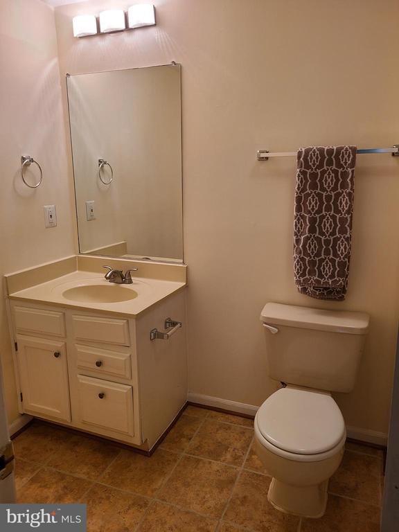 Lower level full bath with shower - 43955 CHOPTANK TER, ASHBURN