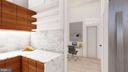 Design Concept 1 - Kitchen Detail and Office View - 1314 21ST ST NW #1, WASHINGTON