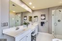 Owner's Bath with Frameless Shower Door - 2112 CHAUCER WAY, WOODSTOCK