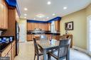 Kitchen and Breakfast Room - 2112 CHAUCER WAY, WOODSTOCK