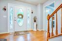 Hardwood entry way - 3408 TITANIC DR, STAFFORD