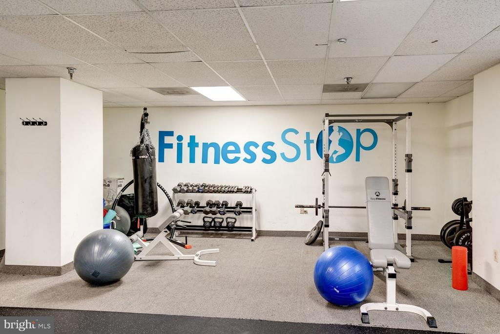 Fitness center! - 2230 GEORGE C MARSHALL DR #827, FALLS CHURCH