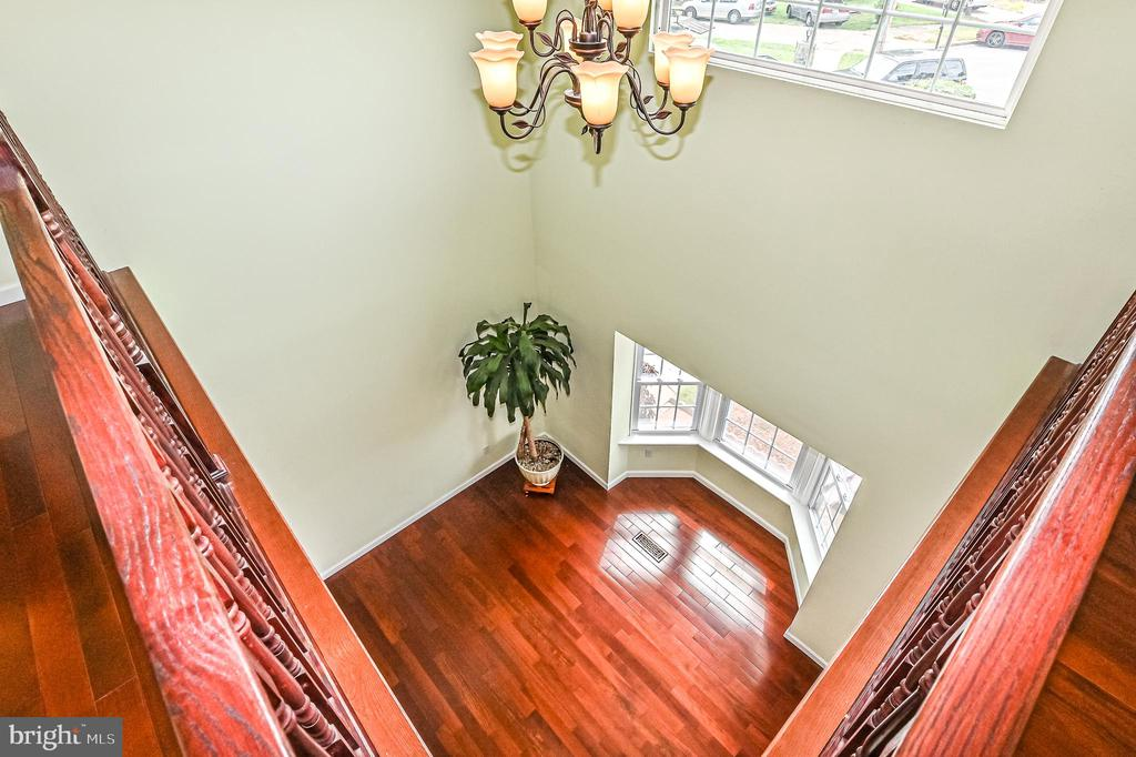 foyer view - 6100 PINTO PL, SPRINGFIELD