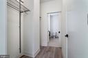 Pocket doors, Elfa closet system, solid core doors - 801 N NW #202, WASHINGTON