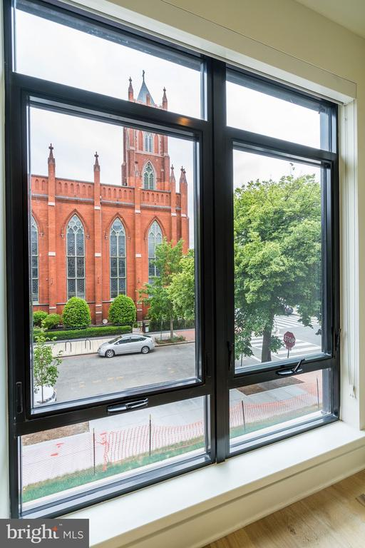 Spectacular view from the bedroom - 801 N NW #202, WASHINGTON