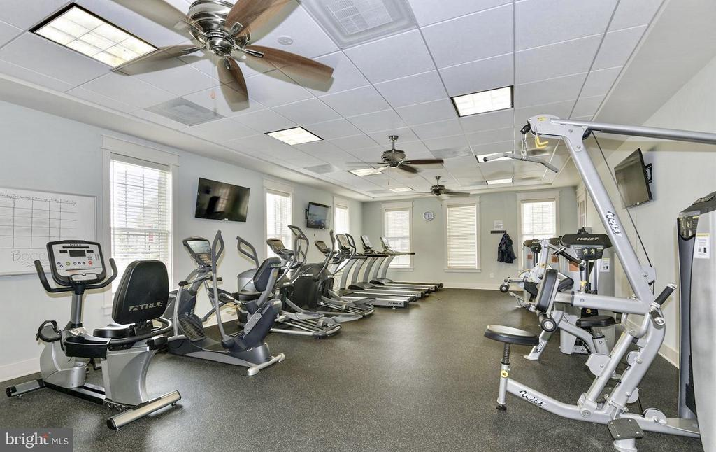 Community Clubhouse Fitness Gym - 21025 ROCKY KNOLL SQ #203, ASHBURN