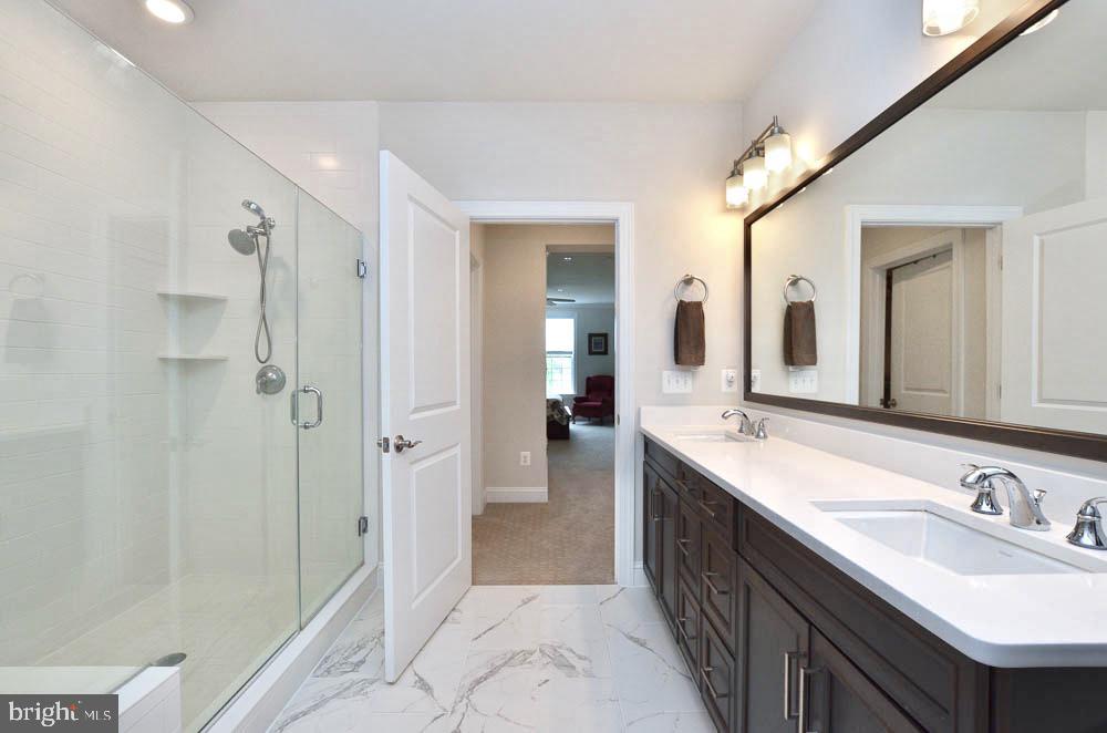 Master Bathroom - 21025 ROCKY KNOLL SQ #203, ASHBURN
