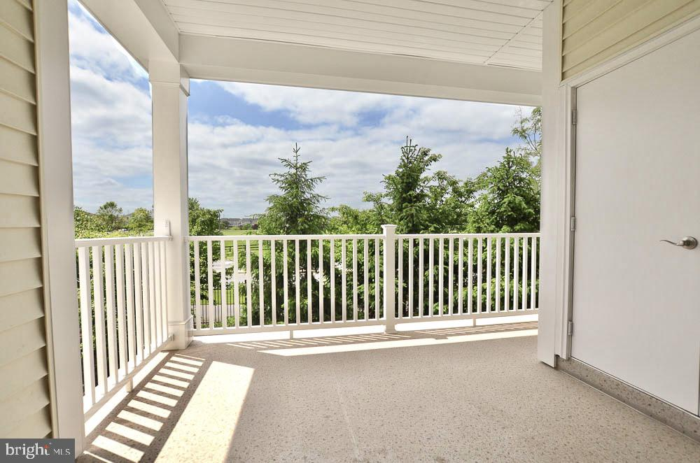 View from the Deck - 21025 ROCKY KNOLL SQ #203, ASHBURN