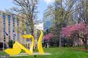 Public art graces Reston Town Center - 11331 BRIGHT POND LN, RESTON
