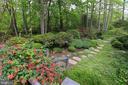Lush landscaping in a fully fenced rear yard - 11331 BRIGHT POND LN, RESTON