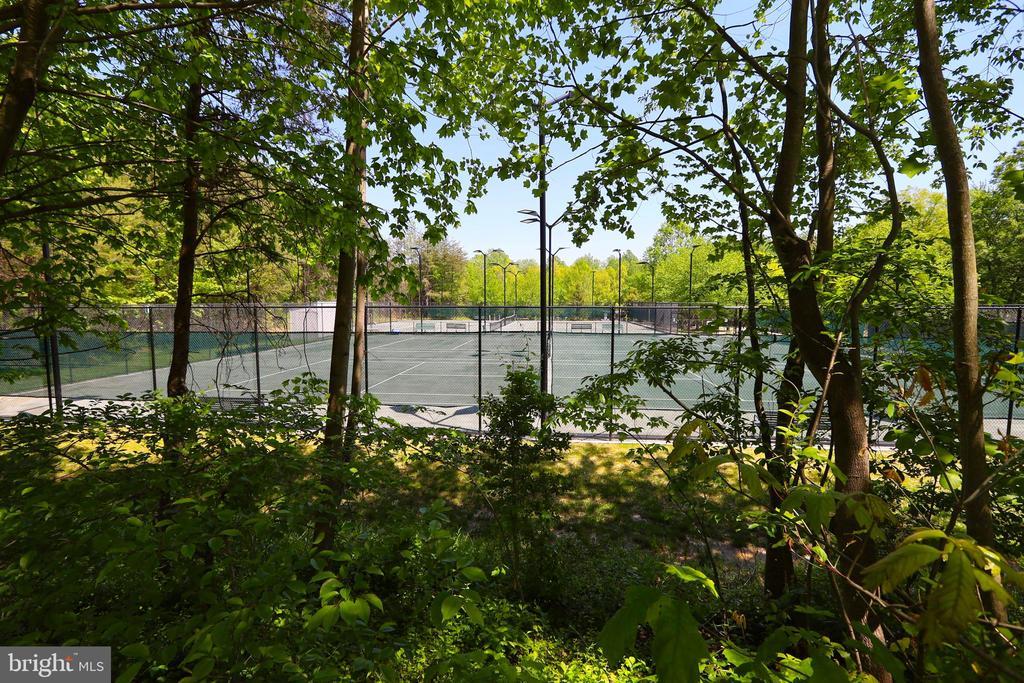 Tennis anyone? - 11331 BRIGHT POND LN, RESTON