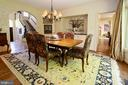 Entertain in this ideal dining room - 11331 BRIGHT POND LN, RESTON