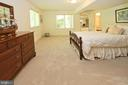 A spacious lower level bedroom w/a large walk-in - 11331 BRIGHT POND LN, RESTON