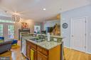 Open Kitchen with Island - 1123 AUGUST DR, ANNAPOLIS
