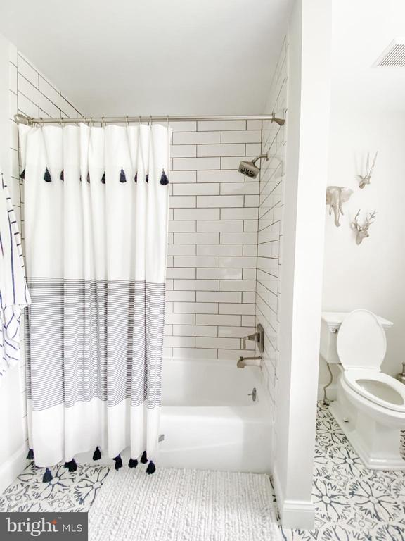 Upstairs bath. - 37175 ADAMS GREEN LN, MIDDLEBURG