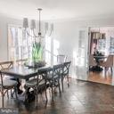 Spacious eat in kitchen with doors to ext. - 37175 ADAMS GREEN LN, MIDDLEBURG