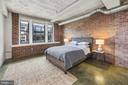 Spacious owner's suite bedroom - 916 G ST NW #401, WASHINGTON