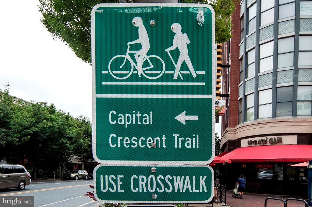 Access to the beloved Capital Crescent Trail - 5119 BRADLEY BLVD, CHEVY CHASE