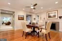 Newly refinished floors.. GORGEOUS! - 5119 BRADLEY BLVD, CHEVY CHASE