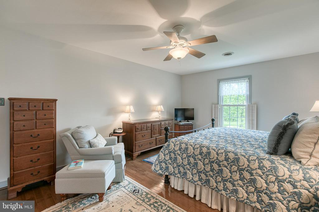 Master bedroom with enough space for sitting area. - 14 STEEPLECHASE RD, FREDERICKSBURG