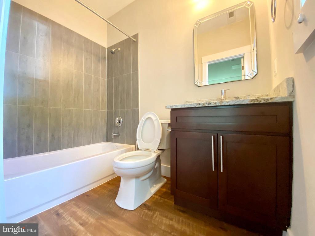 lower level bedroom  8  bathroom - 7627 LISLE AVE, FALLS CHURCH