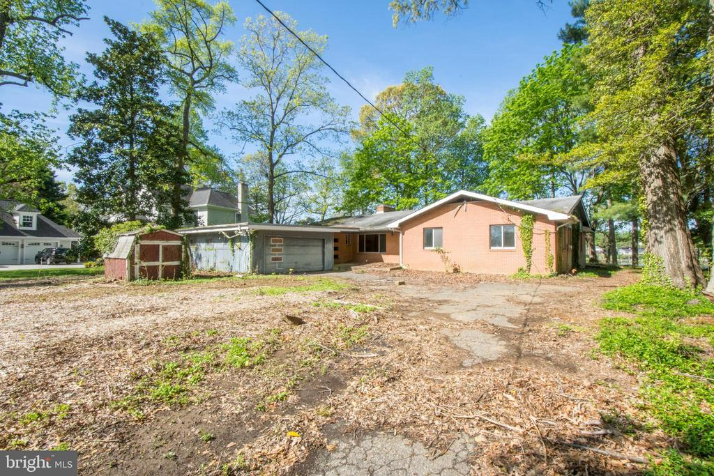 Existing House Can Be Renovated - 1914 HIDDEN POINT RD, ANNAPOLIS