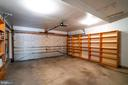 Spacious 2 Car Garage with A Surplus of Storage! - 5266 BALLYCASTLE CIR, ALEXANDRIA