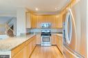 Kitchen with Stainless Steel Appliances! - 5266 BALLYCASTLE CIR, ALEXANDRIA