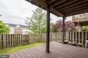 Fenced in Backyard w/ New Deck Boards   Private! - 5266 BALLYCASTLE CIR, ALEXANDRIA