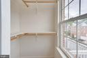 2nd Bedroom Walk-In Closet - 5266 BALLYCASTLE CIR, ALEXANDRIA